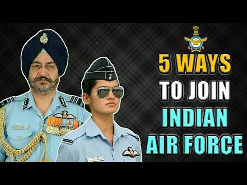 5 Ways To Join Indian Air Force As An Officer In 2018 - भारतीय वायु सेना कैसे ज्वाइन करें? (Hindi)