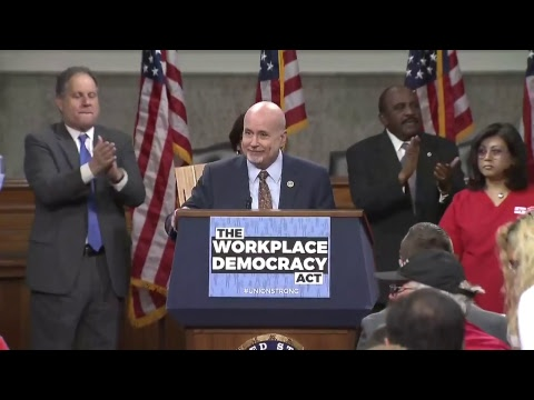 Workplace Democracy Act Introduction