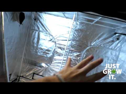 4x8 Grow Tent Unboxing, Setup and Review!