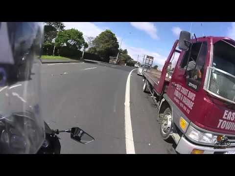 I Passed - re-cap of restricted LTSA Driving / Motorcycle Test Auckland NZ