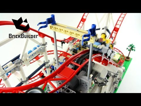Lego Roller Coaster 10261 Functions - Lego Speed Build