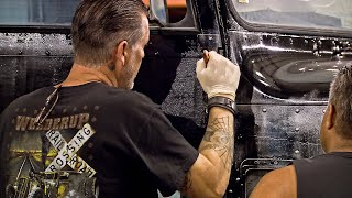 Watch A Major Paintjob Mistake Become Inspiration For A Great Look | Vegas Rat Rods
