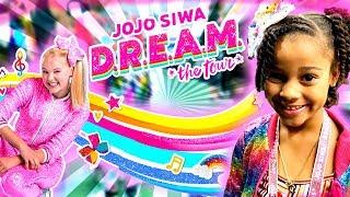 SURPRISING CALI WITH JOJO SIWA CONCERT | FamousTubeKIDS