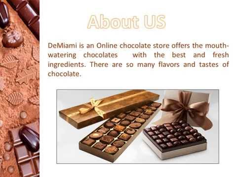 Online Chocolate Store