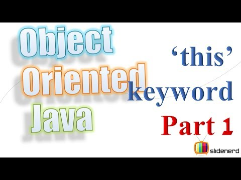 38 Java This keyword Theory |