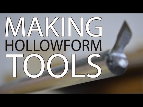 Make Hollowing Tools & Woodturn Fantastic Vessels and Hollowforms