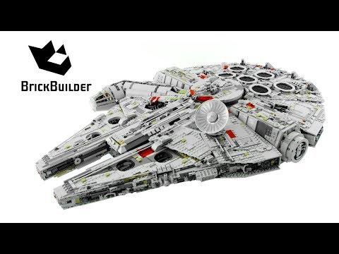 Lego Star Wars 75192 Millennium Falcon - Lego Speed Build