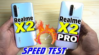 Realme X2 Pro Vs Realme X2 : Speed Test
