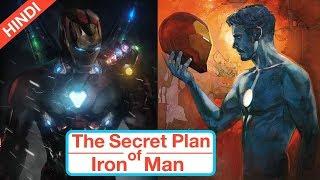 The Secret Plan Of Iron Man In Avengers Endgame Explained In Hindi