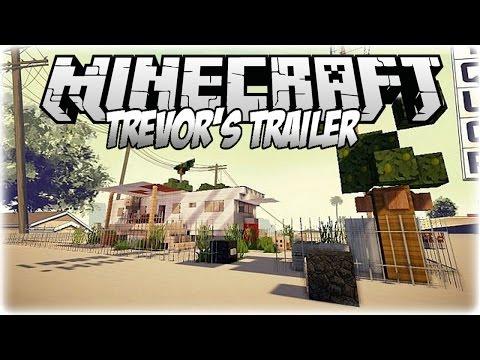 Awesome Minecraft GTA 5 Replica (Trevor's Trailer)