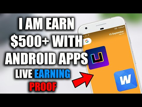 Earn money with Android Apps. Live Paytment PROOF