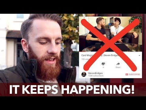 YouTube Is Killing My Channel! | Steven Bridges