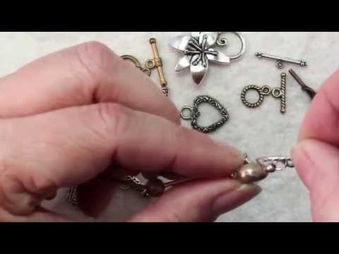 How To Attach A Toggle Clasp Findings