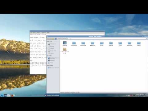 How To configure NTFS in Arch Linux