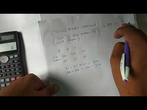 How to find CGPA from obtained marks in percentage || CGPA to percent || Percent to CGPA
