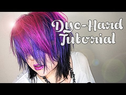 LIVE FREE & DYE-HARD: Pink, Purple & Black!