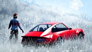 GTA 5 CHRISTMAS SNOW & NEW PFISTER COMET RETRO CUSTOM SPENDING SPREE! (GTA 5 Festive Surprise 2016)