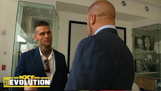 Corey Graves receives a two-year WWE contract: NXT TakeOver: R Evolution, Dec. 11, 2014