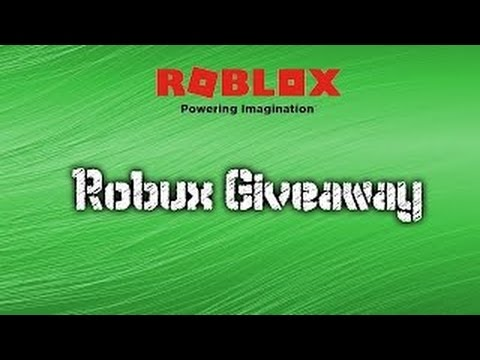 (CLOSED) Robux Giveaway! (100 Robux Giveaway)