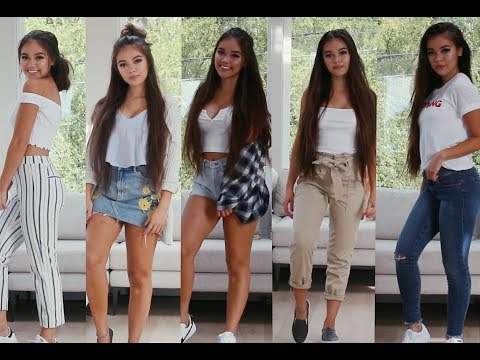 7 Outfit Ideas for School | viviannnv