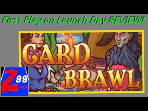 Card Brawl - First Play on Launch Day! - Reviewed! - Is This $2 Deck Building RPG Any Good?
