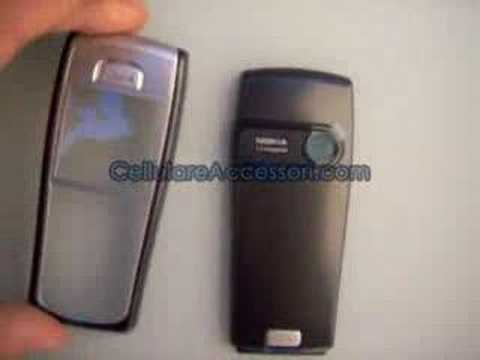 Nokia Cover 6230i CC-233D (Black)