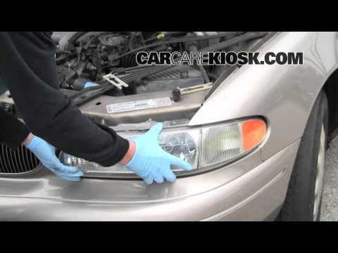 How to Change the Headlights, Turn Signal and Brights on a 1999 Buick Century
