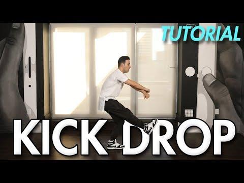 How to do the Kick Drop  (Hip Hop Dance Moves Tutorial) | Mihran Kirakosian