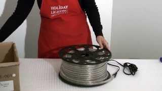 LED Rope Light from HolidayLights.com