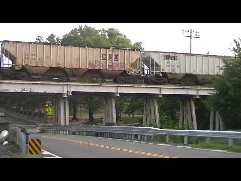 Columbia, SC Railfanning, 7-6-14
