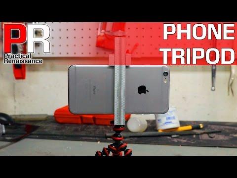 Machining an iPhone 6+ Tripod Mount!