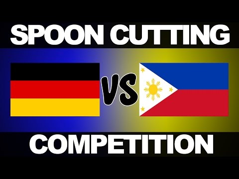 Spoon Cutting Competition - Germany vs. Philippines