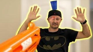 NERF Trick Shot Fails!