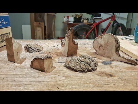 Cutting  A Burl Up For Blanks