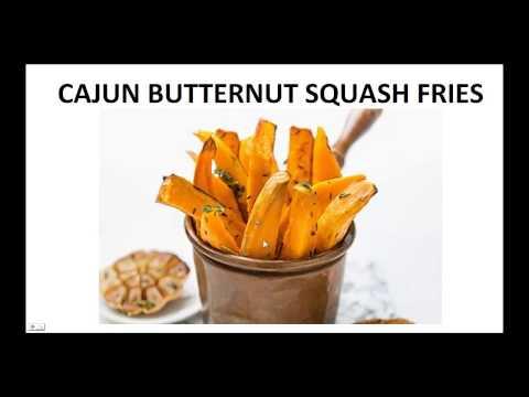 Paleo Diet Recipes - Cajun Butternut Squash Fries By A Former Diabetic