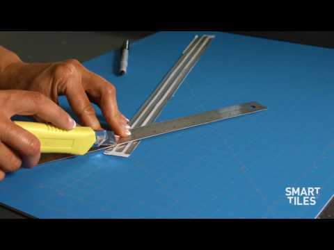 How to install Smart Tiles Finishing Edge - Smart Edge