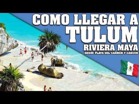 COMO LLEGAR A TULUM DESDE CANCÚN O PLAYA DEL CARMEN. QUINTANA ROO - RIVIERA MAYA. MEXICO 2018