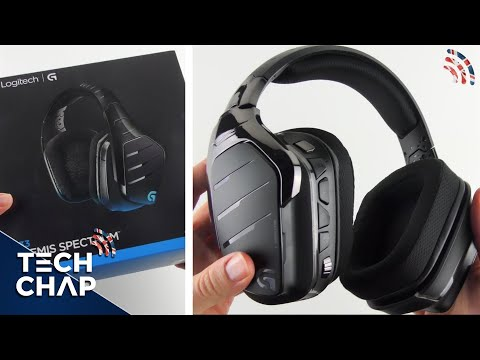 Logitech G933 Unboxing & First Look   Gaming Headphones