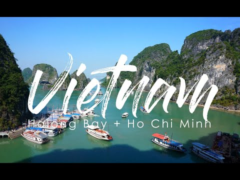 INDOCHINA TRIP 1/3 - HA LONG BAY + HO CHI MINH VIETNAM 2017 | WHERE AVA TRAVELS
