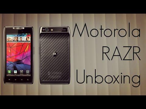 Motorola RAZR Unboxing - Slimmest Android Smart Phone XT912 Phone - PhoneRadar