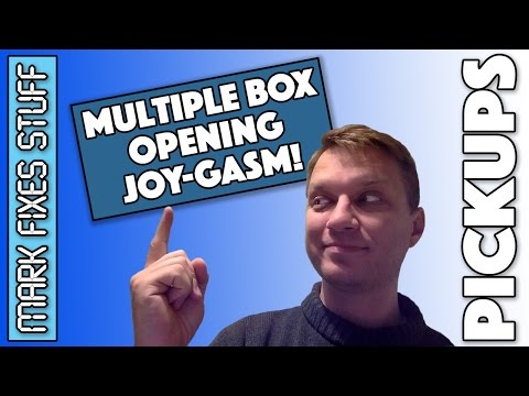 Multiple Box Opening Joygasm - Geeky Toys and Retro Computing Things!