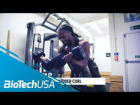 Biceps Workout for Mass - Daily Routine with Ulisses - BioTechUSA