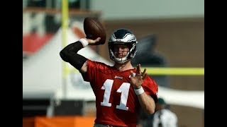Eagles' Carson Wentz looking good at practice