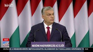 Orbán Viktor huszonkettedik évértékelő beszéde - HÍR TV