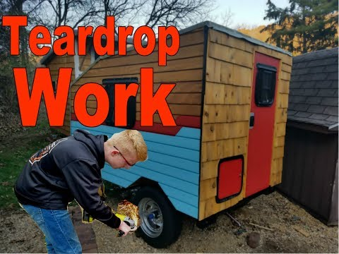 Teardrop Build Moving Forward