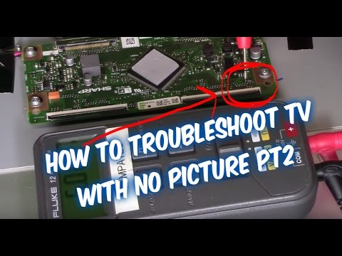 How to Troubleshoot LED LCD TV No Picture pt2