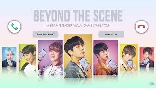 Download [DEMO PLAY] BEYOND THE SCENE   A BTS MESSENGER GAME (1min ver.) Video