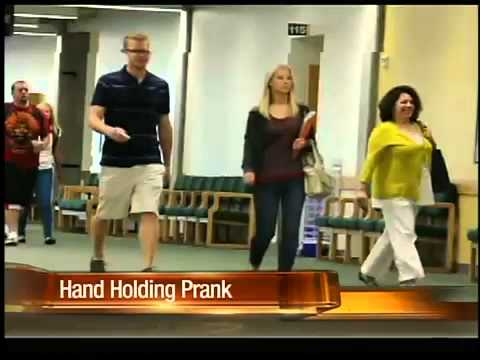 Would you hold hands with a stranger?