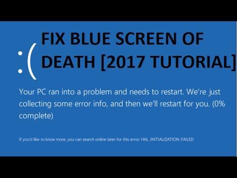 How To Fix Blue Screen Error In Windows 10 [Tutorial]