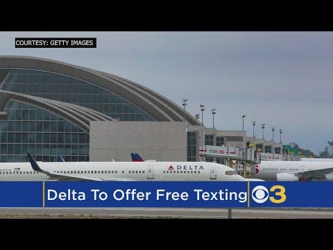 Delta Flights To Offer Free In-Flight Texting